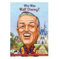 【现货】英文原版 Who Was Walt Disney? 漫画名人传记:沃尔特・迪斯尼是谁 中小学生读物