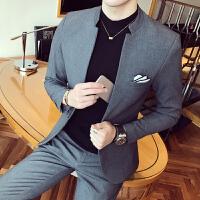 春装新款 韩版结婚礼服 立领西装 男修身西服新郎装伴郎