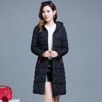 轻薄棉衣女中长款冬装韩版时尚加厚宽松羽绒外套