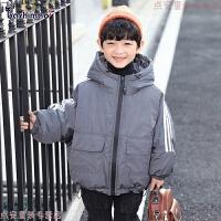童装男童冬装棉衣2018新款韩版儿童面包服中大童羽绒棉袄外套