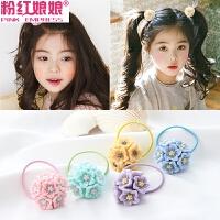 韩版儿童发饰可爱宝宝发圈头花女童扎头发皮筋发绳不伤发头绳头饰