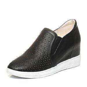 Teenmix/天美意2017春季专柜同款牛皮女单鞋6V421AM7