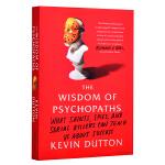 【中商原版】异类的天赋:天才、疯子和内向人格的成功密码 英文原版 Wisdom of Psychopaths 凯文达顿