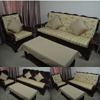 实木沙发海绵垫联邦椅垫春秋椅坐垫老式红木沙发坐垫带靠背加厚