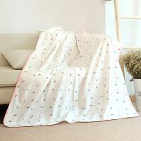 龙之涵纯棉纱布盖毯宝宝夏凉午睡毯儿童幼儿园薄被可做浴巾两用款