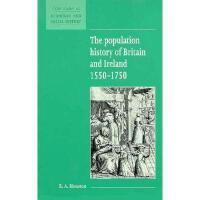 【预订】The Population History of Britain and Ireland 1500