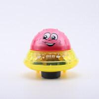 水陆两玩宝宝洗澡2合1电动灯光玩具感应喷水球婴幼儿浴缸戏水