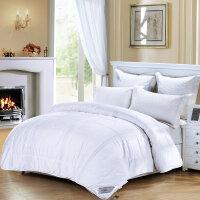 水星家纺复合提花透气被冬被加厚保暖1.8米床被芯被子床上用品