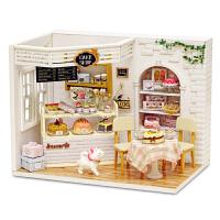 智趣屋手工diy小屋别墅拼装模型房子蛋糕日记创意生日礼物