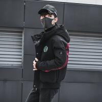 2018冬季新款男士羽绒服轻迷彩韩版修身短款潮流帅气大鹅学生外套