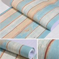 木纹墙纸现代简约自粘壁纸家具翻新防水贴纸