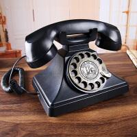 老式欧式仿古电话机美式复古座机家用办公电话