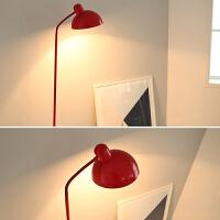 落地灯卧室客厅北欧创意简约现代钓鱼灯书房led护眼落地台灯