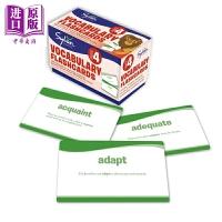 【中商原版】美国小学提升记忆卡4年级词汇 4Th Grade Vocab Flashcards 儿童亲子互动英语学习卡片