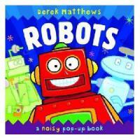 英文原版 Robots: A Noisy Pop-up Book 儿童立体书