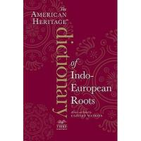 【预订】The American Heritage Dictionary of Indo-European