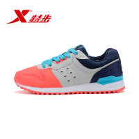 【特惠享】 特步官方正品时尚女休闲鞋 秋季女鞋运动简约984118325673