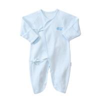新生儿衣服春装婴儿连体衣0-3-6个月宝宝蝴蝶衣和尚服