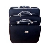 新款手提箱包男复古密码箱旅行箱子行李包装箱公文箱包商务电脑包 黑色