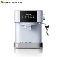 小熊(Bear)智能咖啡�C 家用小型意式全半自�哟蚰膛菀惑w蒸汽萃取煮咖啡�� KFJ-A15L1