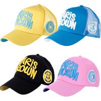 儿童帽子夏季男童棒球帽网帽女童鸭宝宝潮亲子遮阳帽