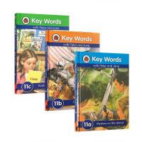 圣诞节礼物英文原版key words ladybird第11阶11a11b11c三本套装 自然拼读启蒙4-6-8岁儿童