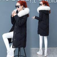 羽绒女冬装中长款棉袄韩版宽松休闲棉衣女士冬季外套