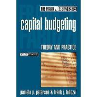 【预订】Capital Budgeting: Theory And Practice