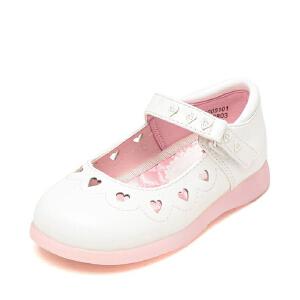 鞋柜2018新款春季春秋夏季可爱甜美梦幻镂空女童单鞋公主鞋单鞋