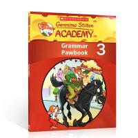 英文原版学乐出版 Geronimo Stilton Academy Grammar Pawbook 3 老鼠记者语法练