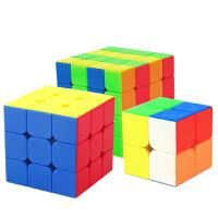 儿童学生玩具文化三阶魔方教室礼盒套装二三四五组合初学比赛