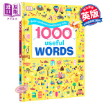 【中商原版】DK常用英语1000词 英文原版 1000 Useful Words 词汇量积累 阅读写作技能提升 精装