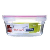 Glasslock 三光云彩�n���M口�化玻璃保�r盒烤箱�S帽惝�盒850ML�菜盒收�{保�r碗OCCT-085