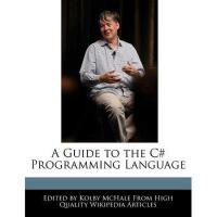 【预订】A Guide to the C# Programming Language