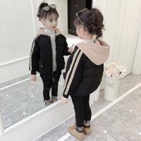女童棉衣2018新款冬装中大童韩版洋气儿童冬季加厚外套棉袄潮