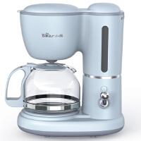 小熊(Bear)咖啡�C 0.6L全自�有⌒兔朗降温�氐�V�C家用泡茶煮咖啡�� KFJ-A06K1 �{色