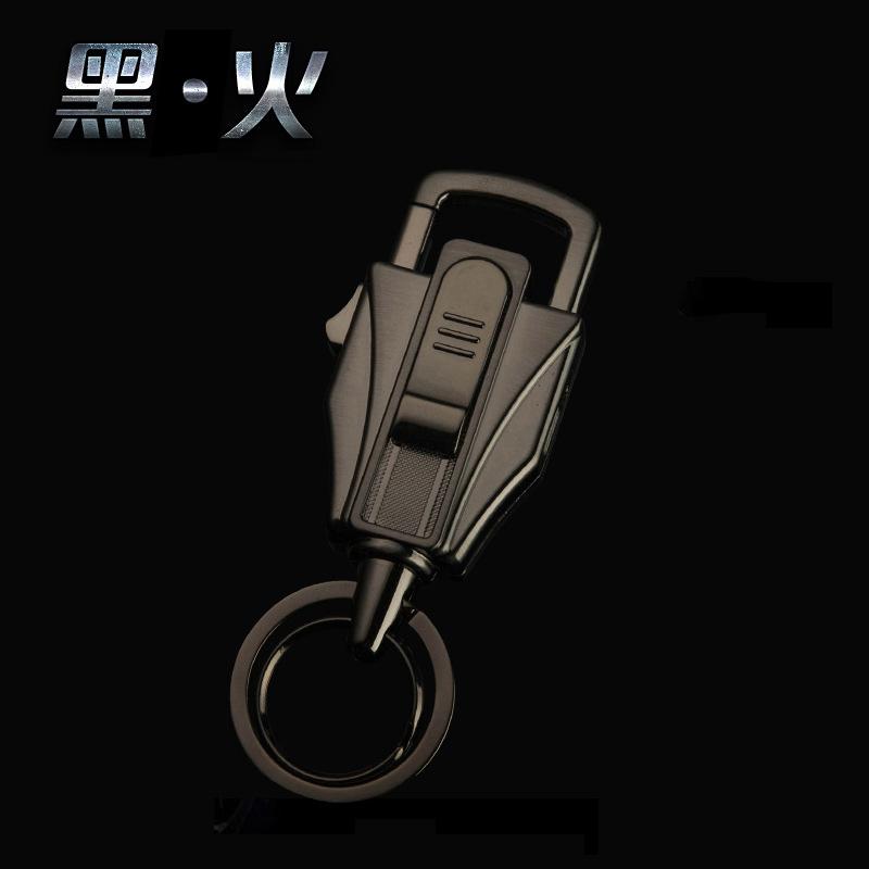 钥匙扣 男腰挂汽车钥匙扣男士点烟器多功能USB充电打火机创意男友生日礼物礼物 发货周期:一般在付款后2-90天左右发货,具体发货时间请以与客服协商的时间为准