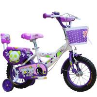 儿童自行车2-3-4-6-7-8岁男女宝宝12-14-16-18寸小孩单车脚踏车