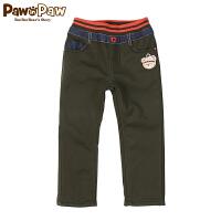 【秒杀价:90】Pawinpaw宝英宝韩国小熊童装男童卡通长裤