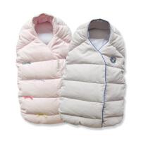 davebella 秋冬季柔软保暖宝宝睡袋/婴儿/新生儿羽绒睡袋