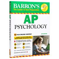 巴朗AP心理学 第8版 英文原版 Barron's AP Psychology 医学心理学
