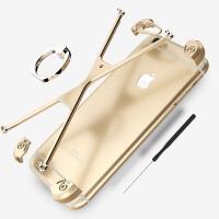 苹果6手机壳6splus金属边框iphone6s壳男女款硬保护套6p全包