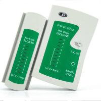 多功能网络测试仪工具 RJ45网线RJ11电话线两用测线仪测线器