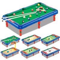 儿童台球桌 桌上足球亲子互动游戏室内玩具6合1多功能台球桌送男女孩儿童生日礼物