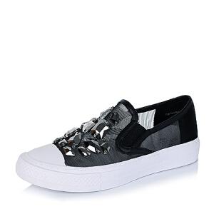 【鞋靴超级品类日】BASTO/百思图专柜同款尼龙网布女单鞋YBY01CM6