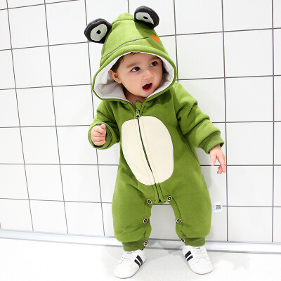 婴儿冬季外出抱衣加厚保暖一岁宝宝冬装男0一1岁英式婴儿衣服潮款 发货周期:一般在付款后2-90天左右发货,具体发货时间请以与客服协商的时间为准