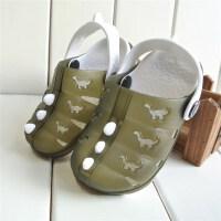 夏季透气儿童洞洞鞋凉鞋透气宝宝果冻鞋拖鞋男女童