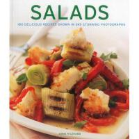 【预订】Salads: 180 Delicious Recipes Shown in 245 Stunning