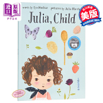 【中商原版】Julie Morstad:茱莉亚和孩子 Julia, Child 精品绘本 保持童真 故事书 烹饪 3~