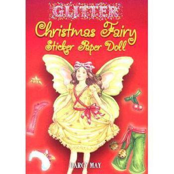 【预订】Glitter Christmas Fairy Sticker Paper Doll 美国库房发货,通常付款后3-5周到货!